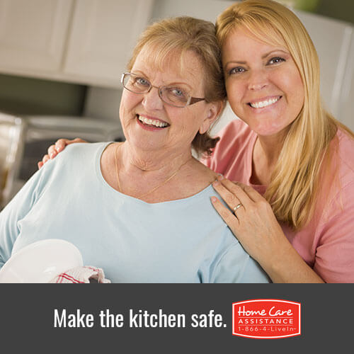 Make the kitchen safe.
