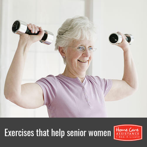 Beneficial Exercises for Senior Women in Philadelphia, PA