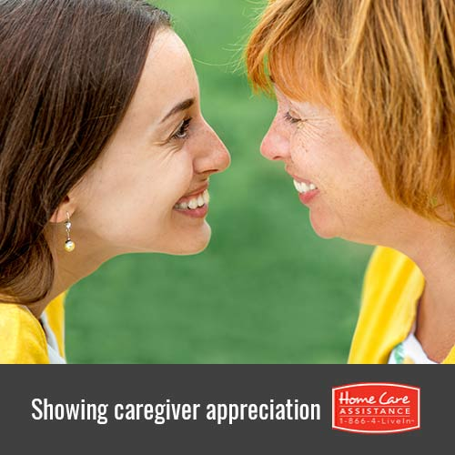 How to Show Appreciation for Your Senior Loved One's Caregiver in Philadelphia, PA