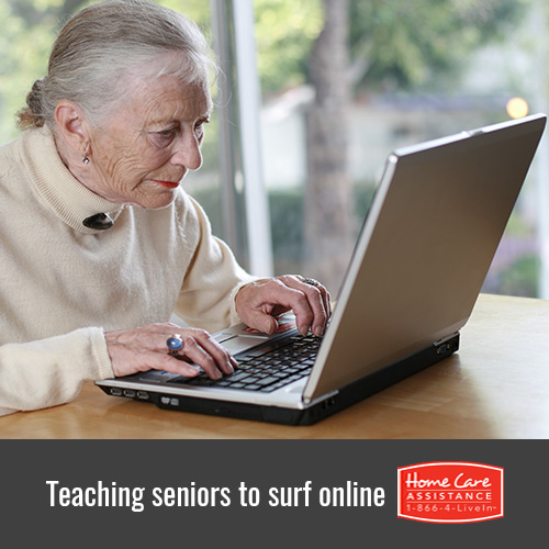 Teaching Seniors How to Use the Internet in Philadelphia, PA