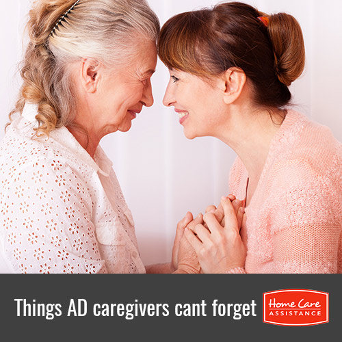 Things Alzheimer's Caregivers Need to Remember in Philadelphia, PA