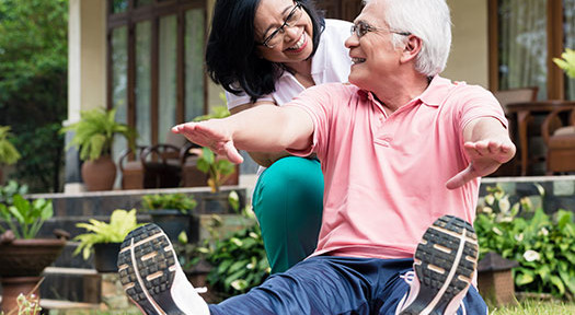 5 Ways to Help Your Senior Loved One Get into Shape in Philadelphia