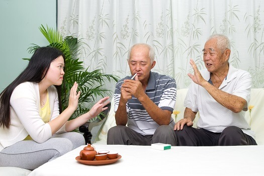 Elderly Parents Bad Habits