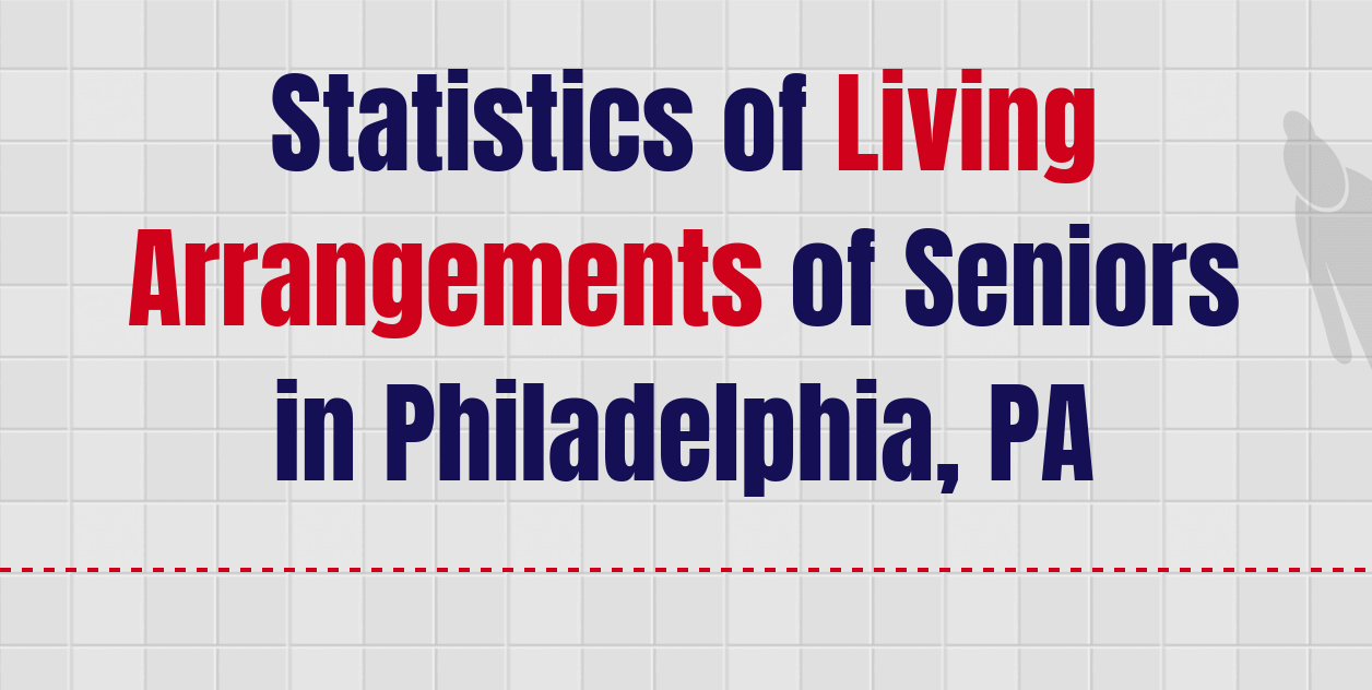 Statistics of Living Arrangements of Seniors in Philadelphia, PA
