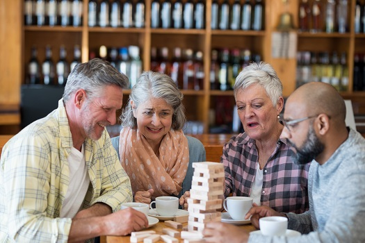 Entertaining Games Aging Adults Can Enjoy while Seated in Philadelphia, PA