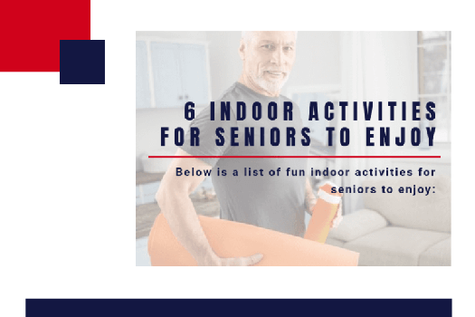 6 Indoor Activities for Seniors to Enjoy [Infographic]