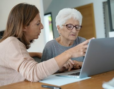 Tips for Helping Elderly Parents Use the Internet Safely in Philadelphia, PA